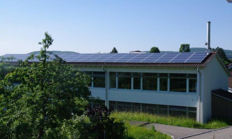 17.48 kWp Aufdach – Schulhaus, 5079 Zeihen