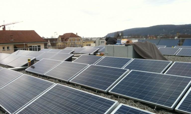 15 kWp Aufgeständert – 4133 Pratteln