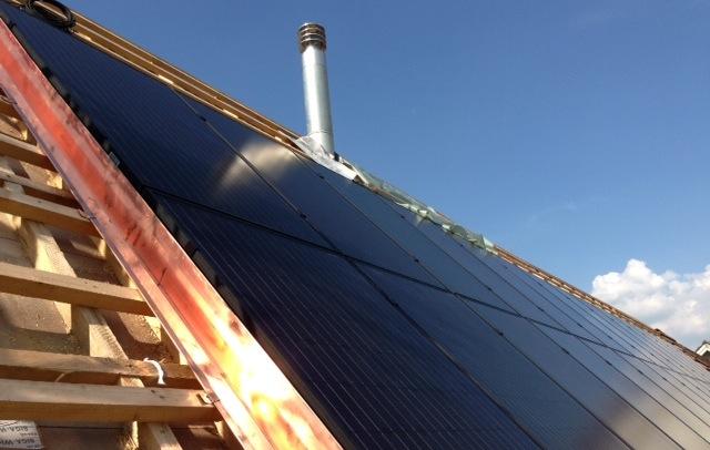 7.65 kWp Indach – 5075 Hornussen