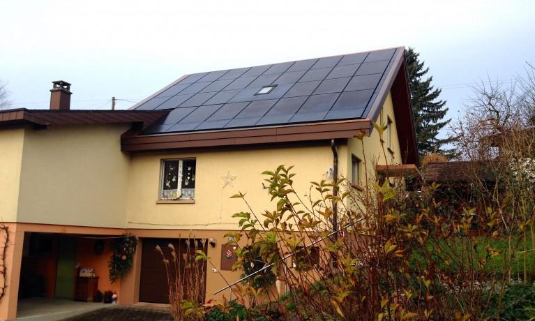 8.32 kWp Indach – 5072 Oeschgen
