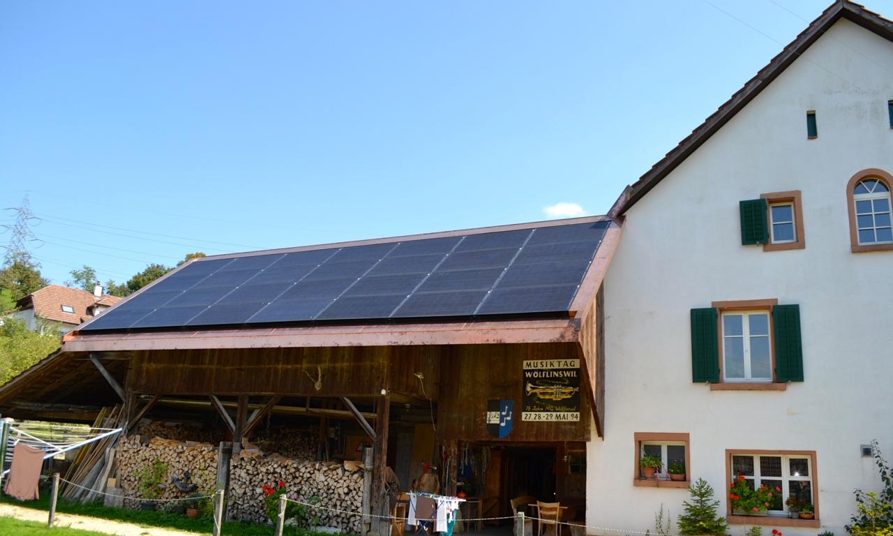 6.0 kWp Indach – 5063 Wölflinswil