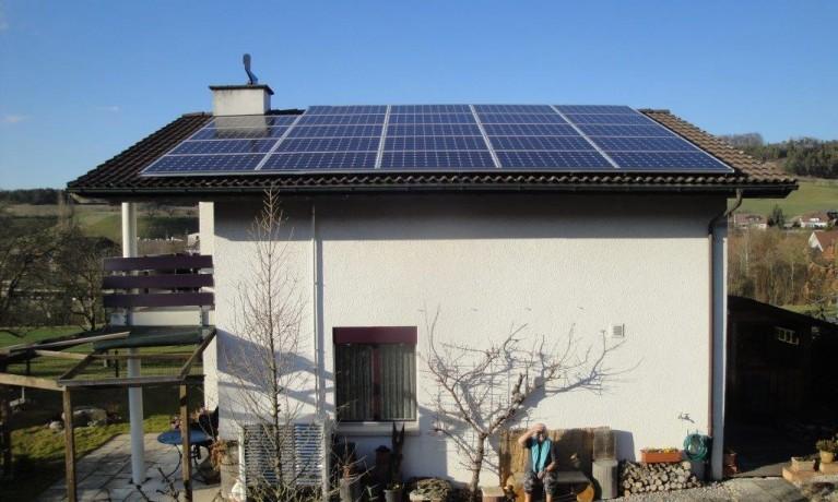 6.20 kWp Aufdach – 5078 Effingen