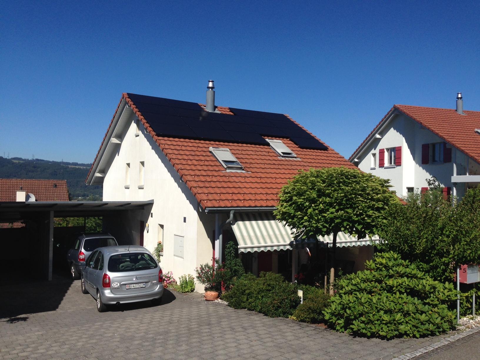 4.77 kWp Aufdach – 4333 Münchwilen AG