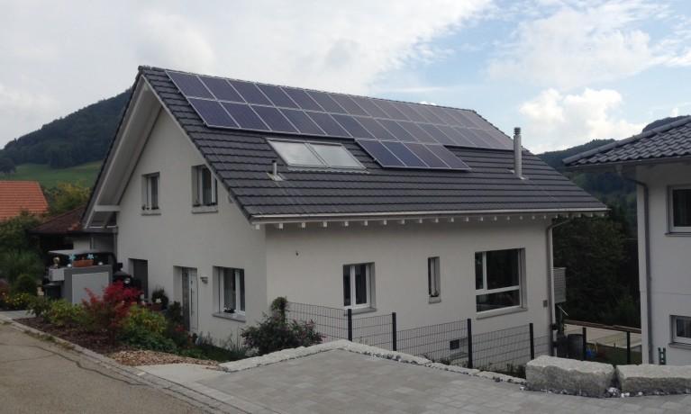 7.95 kWp Aufdach – 4634 Wisen SO