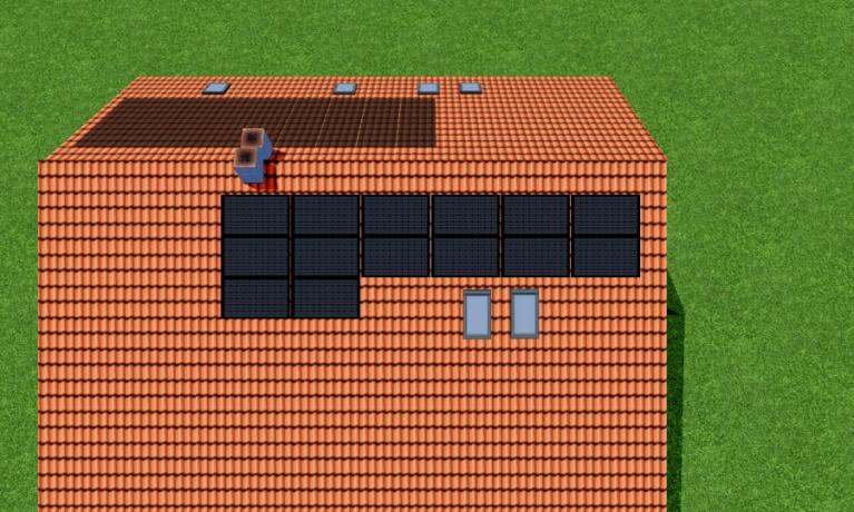 8.8 kWp Aufdach – 5079 Zeihen