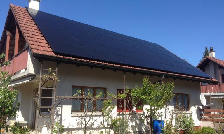 11.55 kWp Aufdach – 4333 Münchwilen AG
