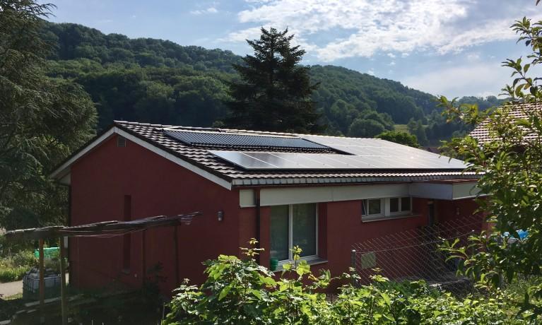7.08 kWp Aufdach – 4324 Obermumpf