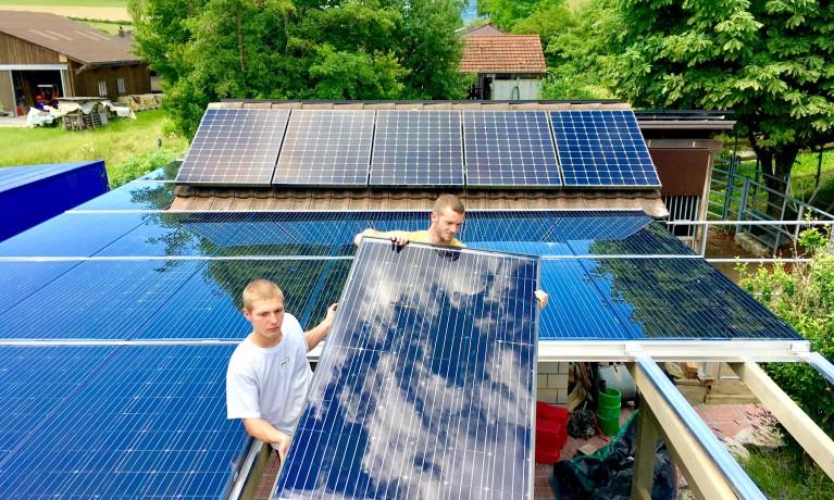 5.8 kWp Indach – 5077 Elfingen