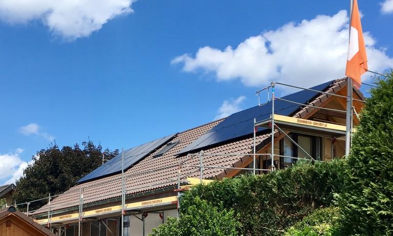 9.625 kWp Aufdach – 5072 Oeschgen