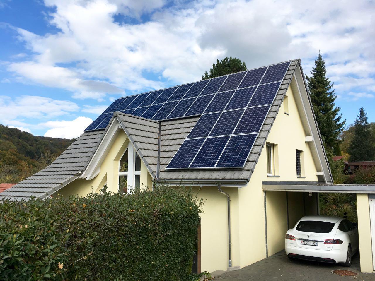 13.5 kWp Aufdach – 5075 Hornussen