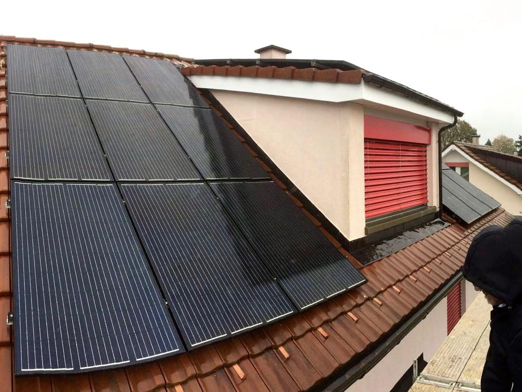 7.2 kWp Aufdach – 5610 Wohlen