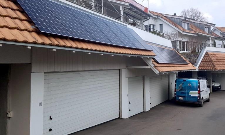 9.9 kWp Aufdach – 5417 Untersiggenthal
