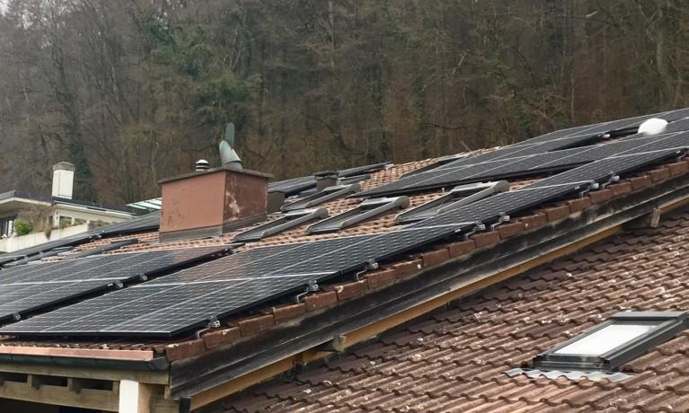 9.15 kWp Aufdach – 5200 Brugg