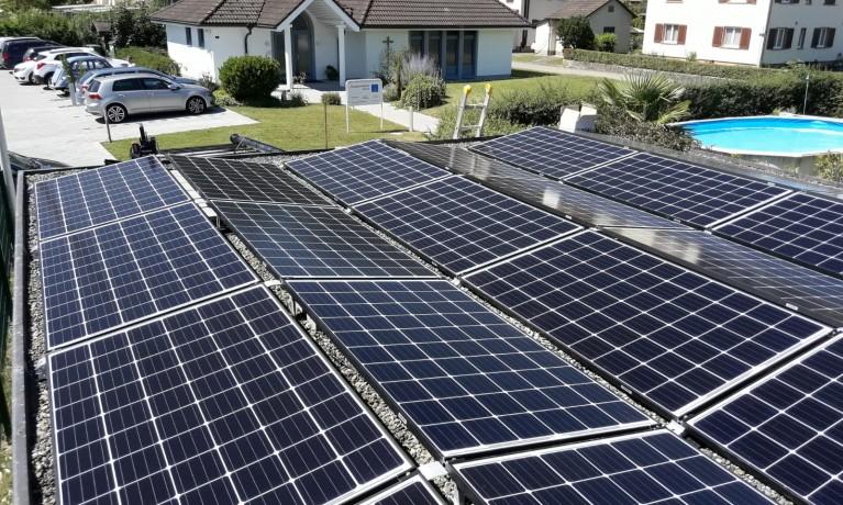 7.32 kWp Aufgeständert – 4332 Stein AG