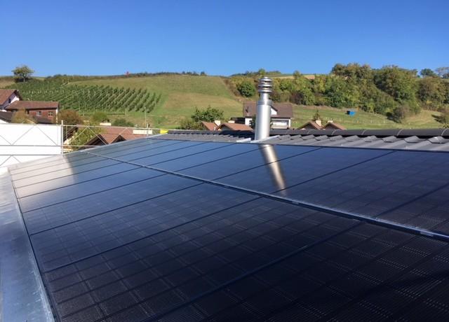 6.4 kWp Indach – 5076 Bözen