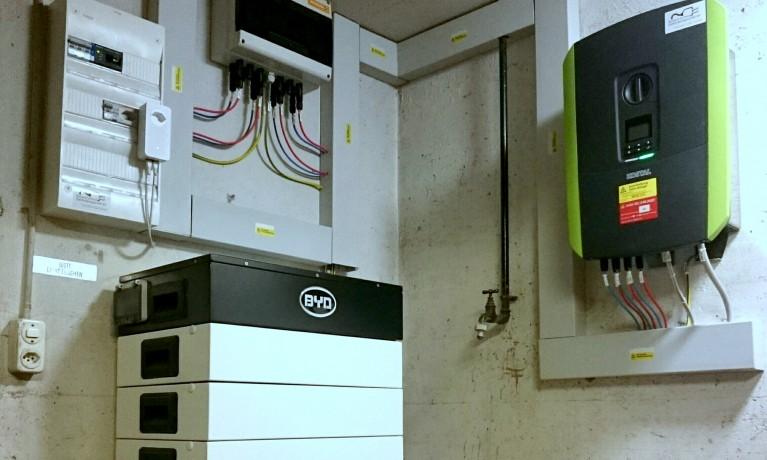 12.60 kWp Aufdach mit Speicher – 5070 Frick