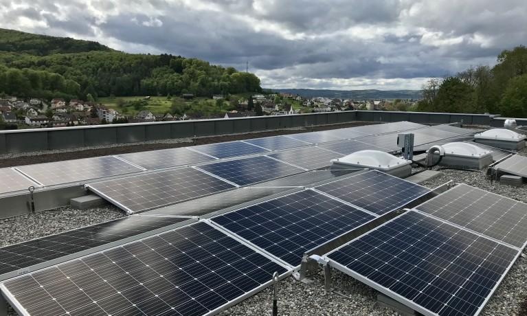 16.8 kWp Aufgeständert – 4314 Zeiningen