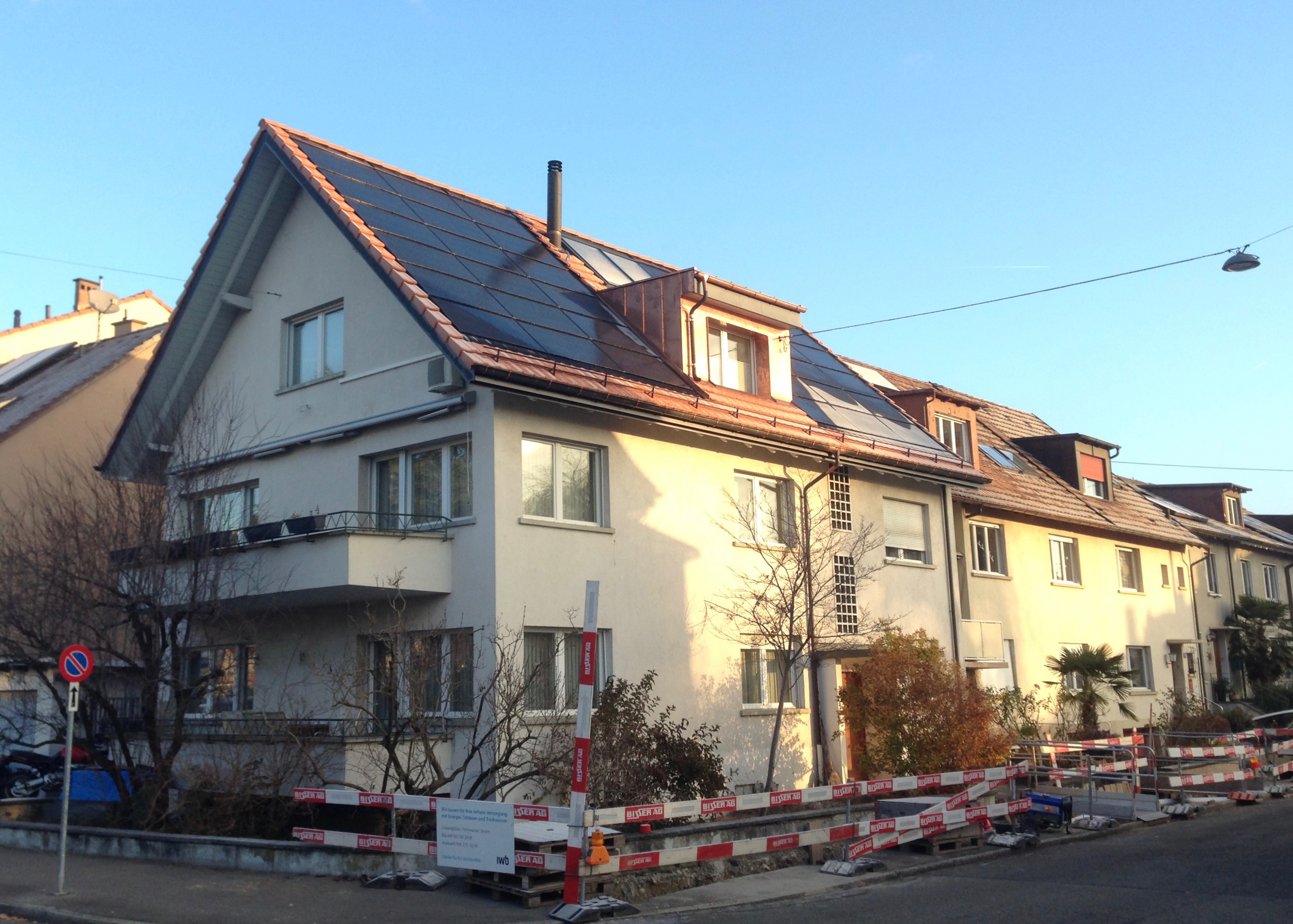 10.62 kWp Indach – 4054 Basel